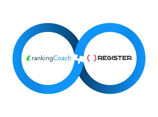 Register.it and rankingCoach unite to support the visibility