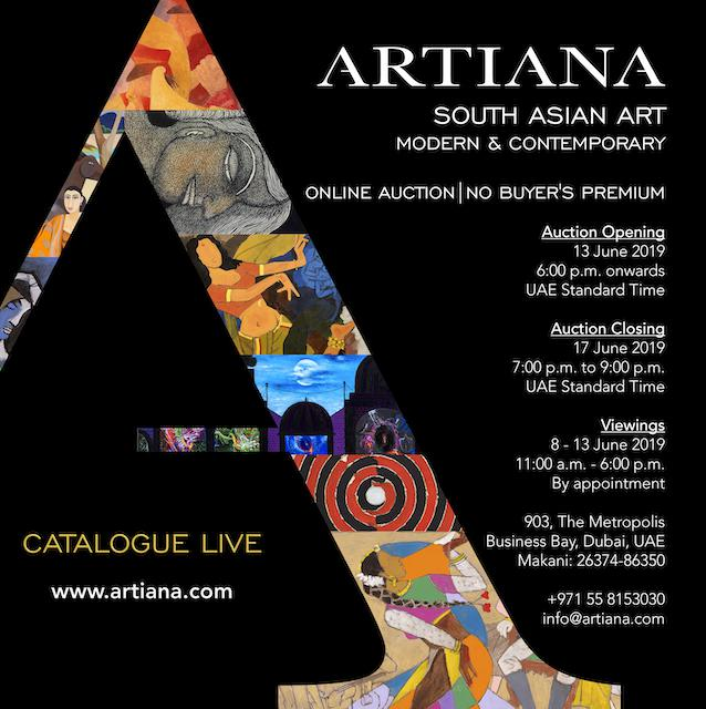 ARTIANA announces Upcoming Online Auction of Modern