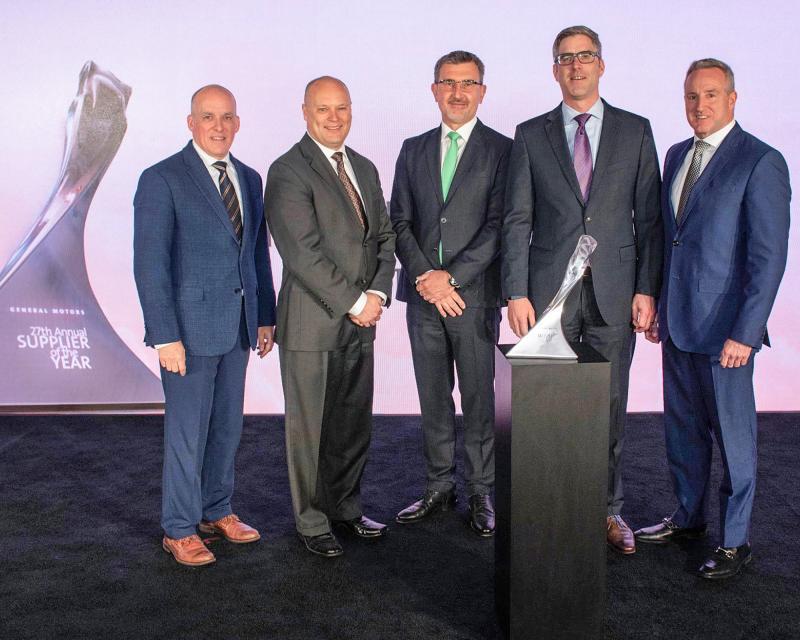 From left to right: James Danahy (GM), Jerry Beemer(GM), Karl Wagner, Mark Furtwängler,  David Drouillard (GM)