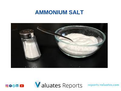 GLYCYRRHIZIC ACID AMMONIUM SALT MARKET REPORT BY VALUATETS