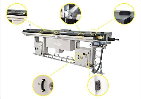 Elesa ELECOLOR® components – a machine tool application
