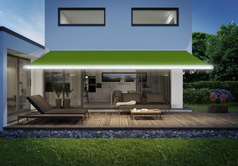 Today's top-quality awnings are designer products with sophisticated technology, such as from markilux.