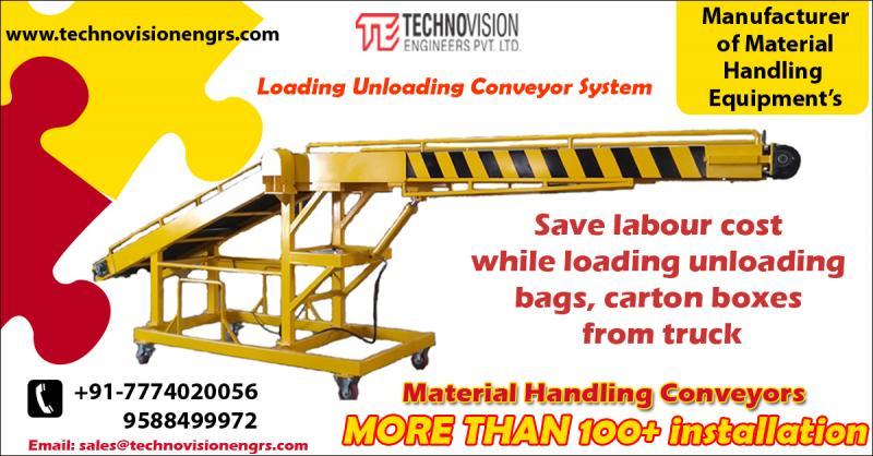 Truck Loading Unloading Conveyor - Manufacturer & Supplier from