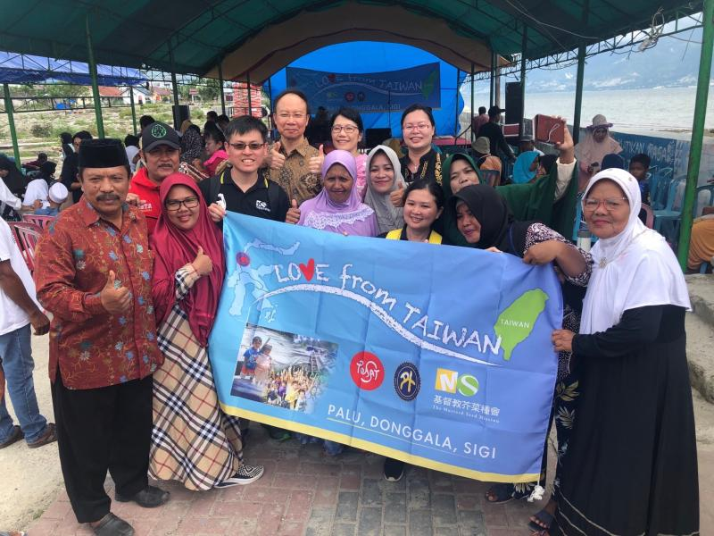 The Mustard Seed Mission brings together Taiwan's love to assist Indonesia Palu in post-disaster reconstruction