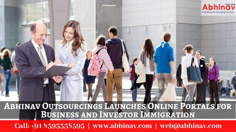 Launches Online Portals for Business and Investor Immigration
