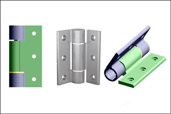 "PINET soft-close aluminium hinges from FDB prevent ""slam-shut"""