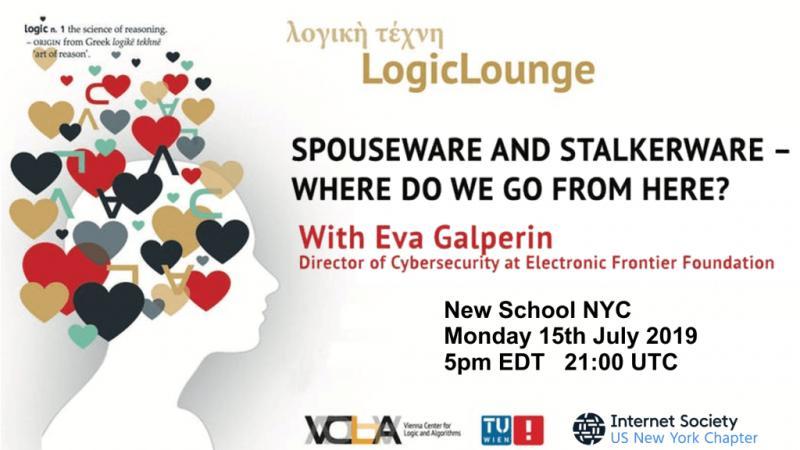 LogicLounge with EVA GALPERIN in NEW YORK, JULY 15 2019