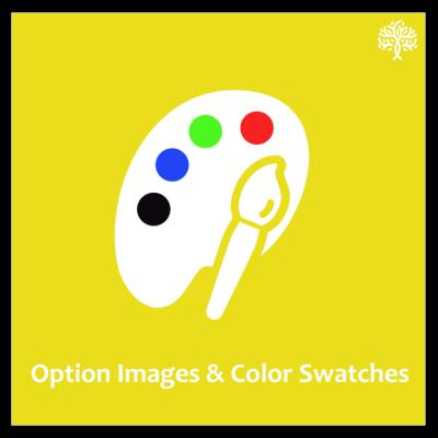 How to set the option image in Purpletree option images and color