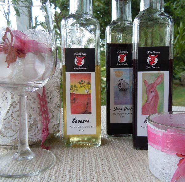 Fruitwine tasting at the winery, Pellendorf