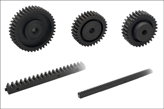 Elesa ZCR and ZCL modular transmission elements – racks and spur gears