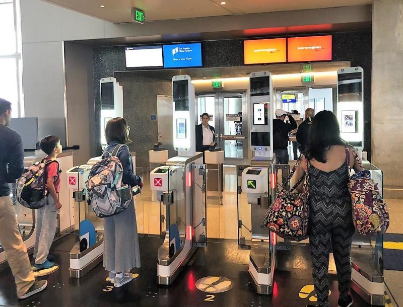 Los Angeles: Vision-Box biometric boarding platform extended