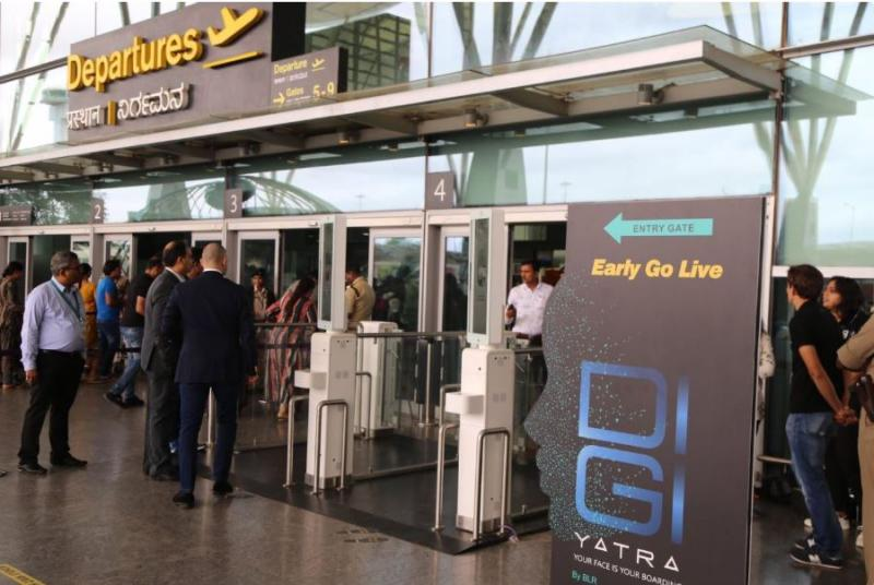 Kerb-to-Gate Biometric Journey goes live at Kempegowda