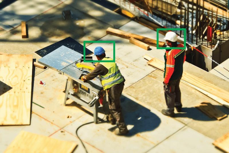 EasyFlow software identifies PPE