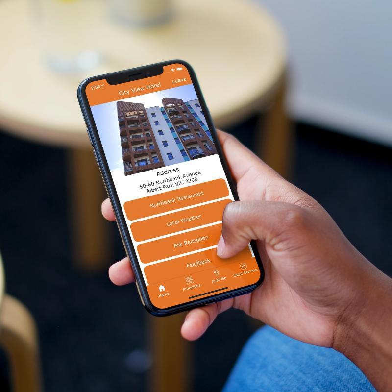 Hinfo - Leading Edge BYOD Digital Hotel Solution