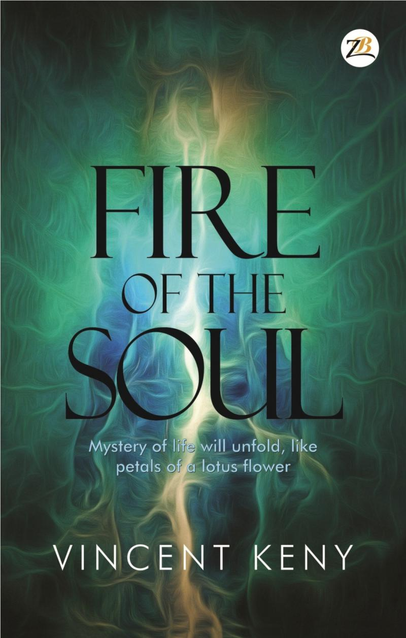 released fire of the soul ,inner self , meditation , self-help
