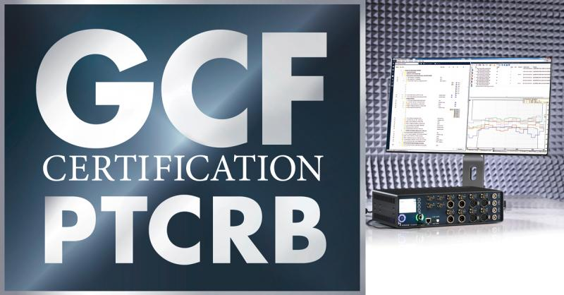 HEAD acoustics provides world´s first GCF certified test solution for super-wideband-capable mobile device