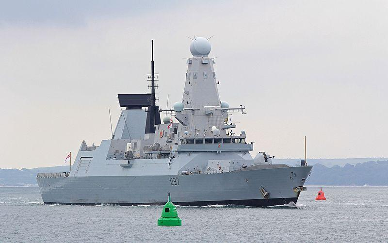 "The Type 45 Destroyer or Daring-class air-defence destroyers is described by the Royal Navy as ""among the most advanced warships e"