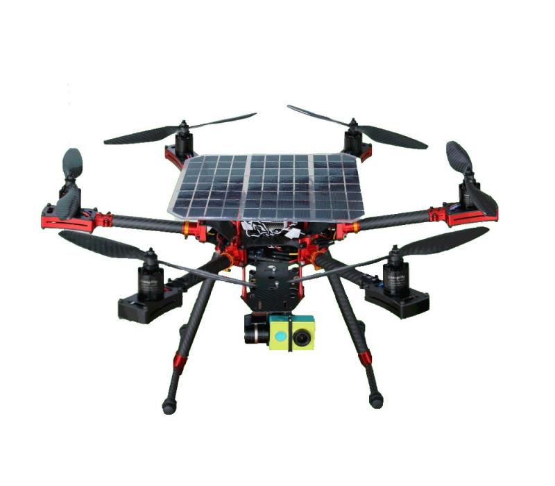 SOLAR POWERED DRONES