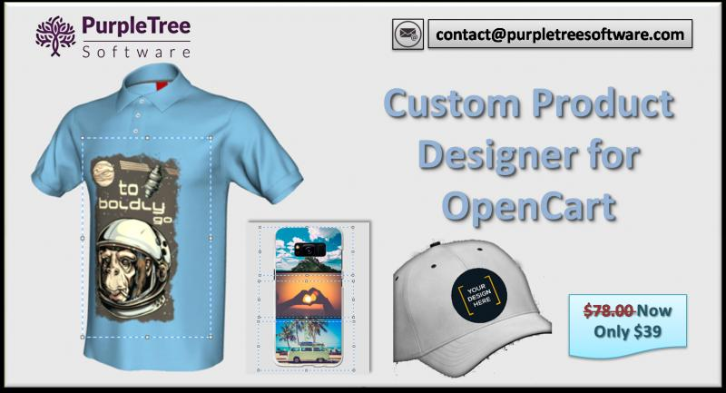 Add clipart in OpenCart Custom Product Designer Extension