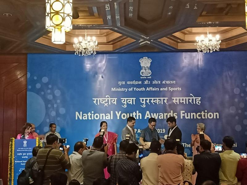 On International Youth Day Proud to be BITSian Prince Singhal BITS Pilani alumnus Bags National Youth Award