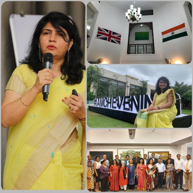 Chevening Fellow Prof Suphiya Khan Banasthali Participates in CRISP IGNITE 2019 Alumni Conference