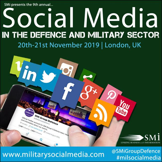British Army to present at SMi's 9th annual Social Media in