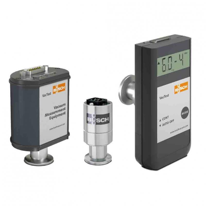 The three product lines of Busch's VacTest vacuum measurement equipment