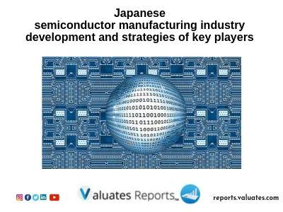 Japanese semiconductor manufacturing industry development