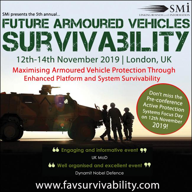 Future Armoured Vehicles Survivability 2019