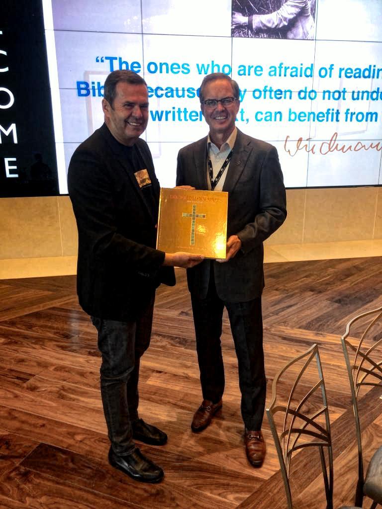 Martin Wiedmann and MOTB CEO Ken McKenzie
