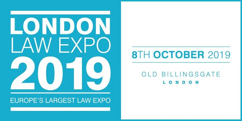London Law Expo 2019: Full Line-Up of Expert Speakers Confirmed