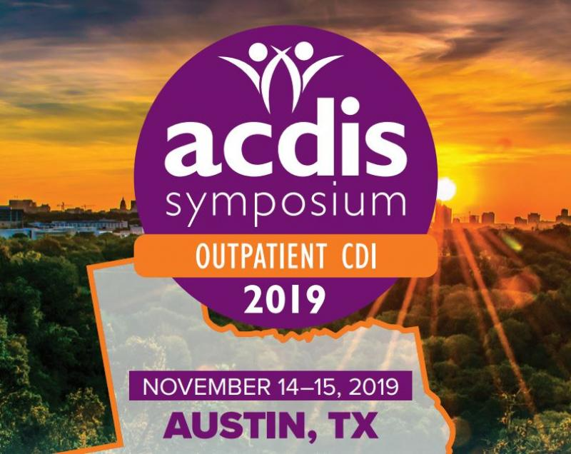 The Nation's No #1 ACDIS Symposium: Outpatient CDI to be held