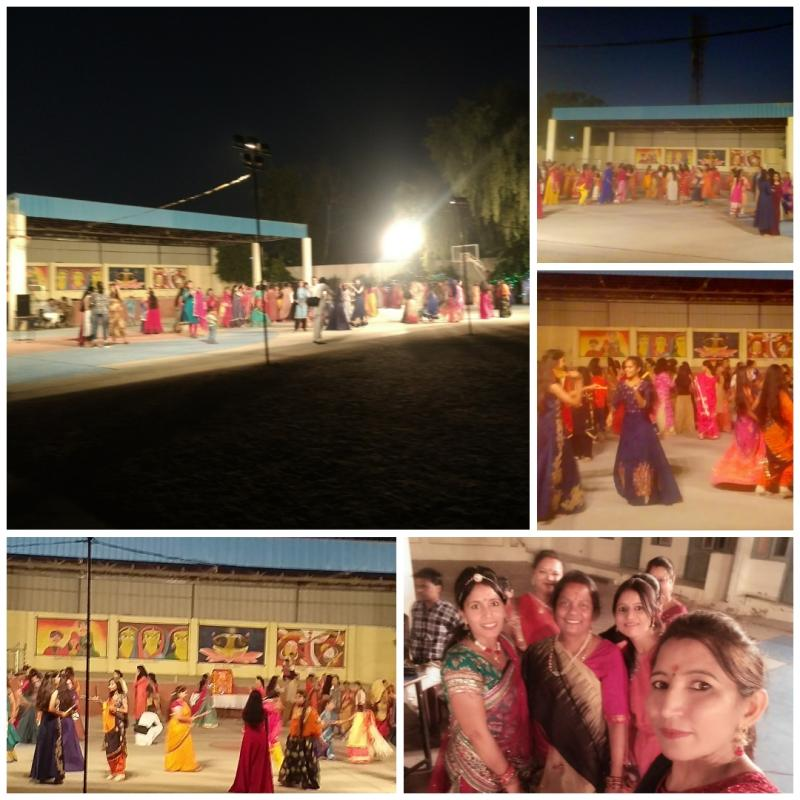 JMA Pilani Students Razzle Dazzle with Garba Dandiya for Navratri 2019 Celebrations