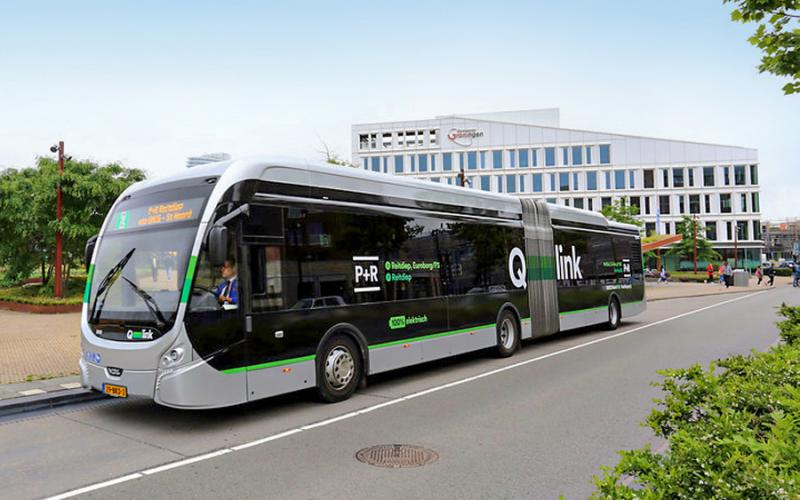 Qbuzz dispatches e-buses integrated with the IVU.suite