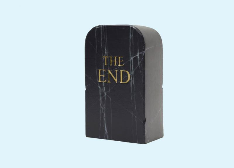 Maurizio Cattelan THe End Black