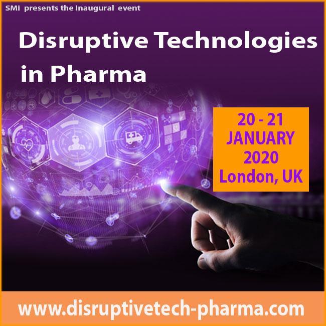 Disruptive Technologies in Pharma 2020