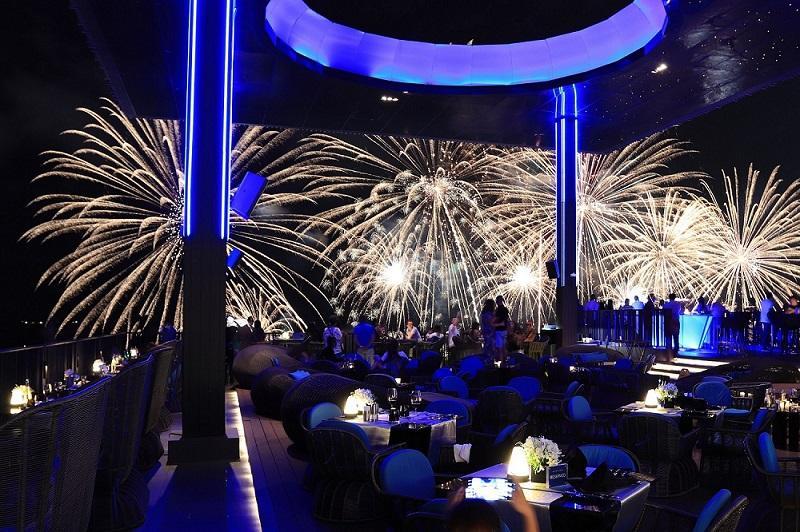 Fireworks Display at Horizon
