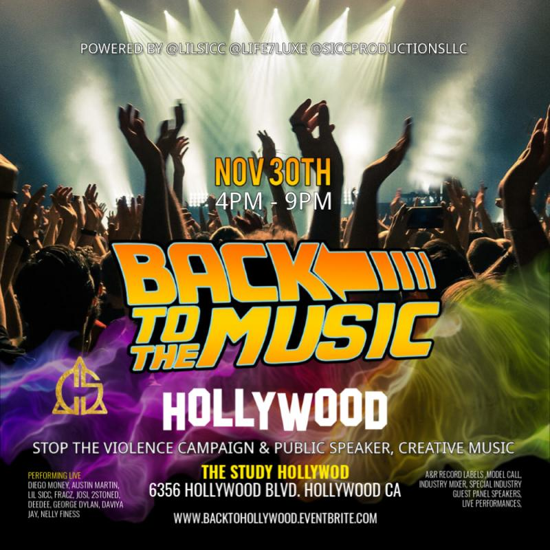 Community meets Music Industry @back2themusichollywood brought to you by @siccproductionsllc
