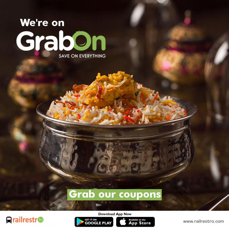 RailRestro ties up with Grabon: Launches Exclusive Coupons