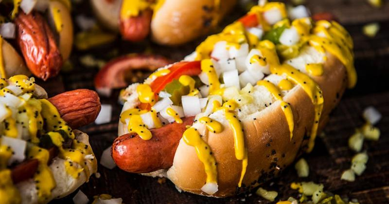 Hot Dogs And Sausages