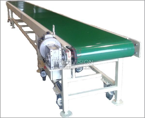 Belt Conveyor | Inclined Belt Conveyor | Flat Belt Conveyor -