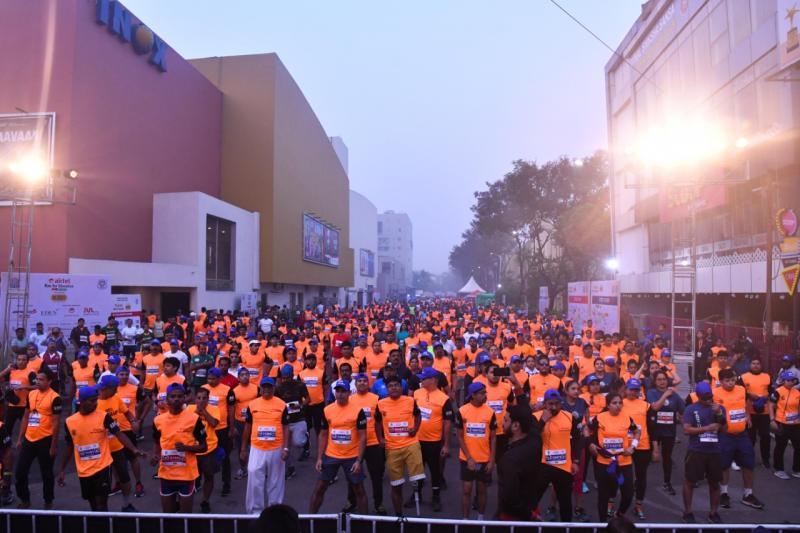 The most loved Half Marathon of the City of Joy (Kolkata, India)