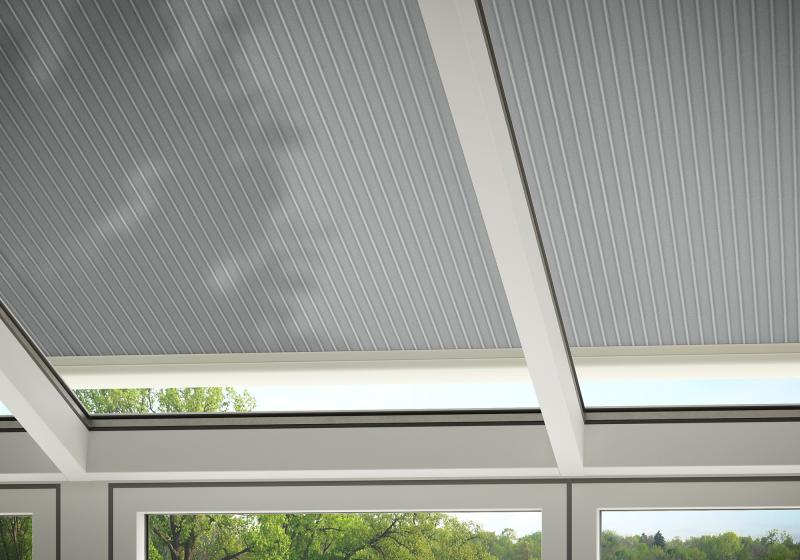"Some fabrics in the markilux awning fabric range ""perfotex"" are particularly suited for solar protection for conservatories."