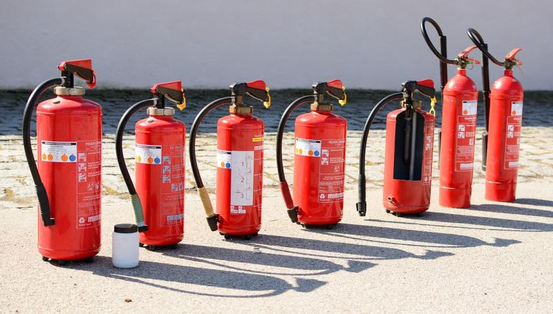 CO2 Fire Extinguishers Market Release involving Buckeye Fire,