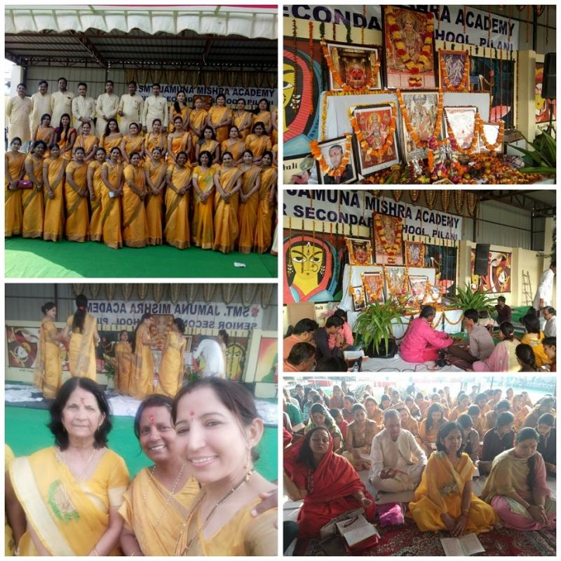JMA Pilani Celebrates Crystal Jubilee with Sunderkand Path by Shri Mitra Mandal and Savamani