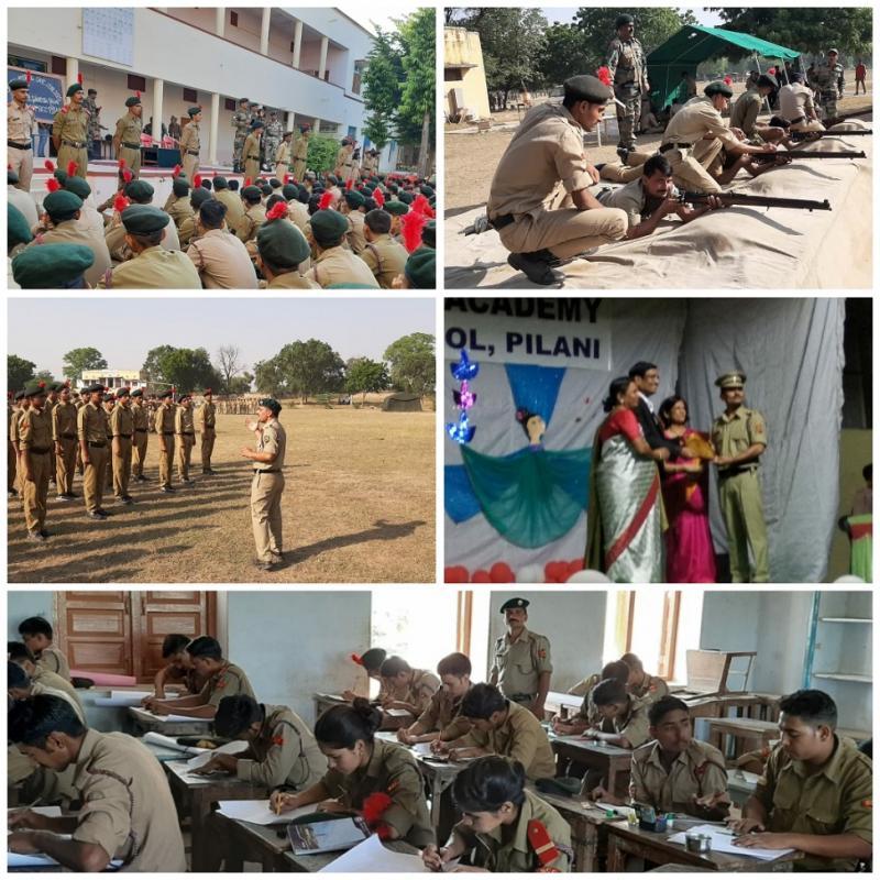JMA Pilani 1RAJ(I)COY NCC (JD) Troop No 23/2 - 71st Raising Day