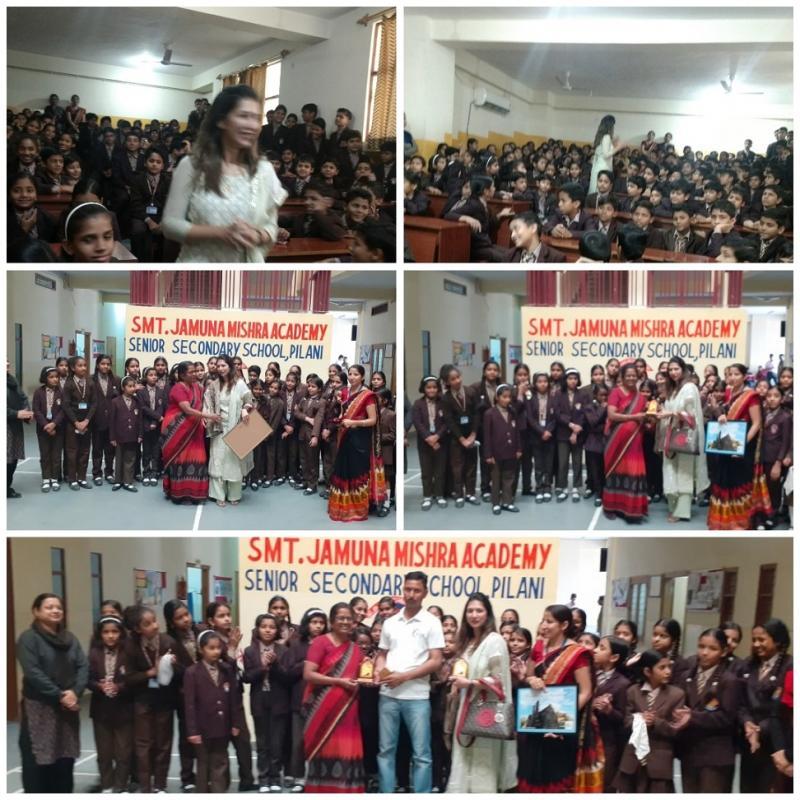 Daughters are Precious Naveen Jain IAS SPARSH Awareness Campaign at JMA Pilani Rajasthan
