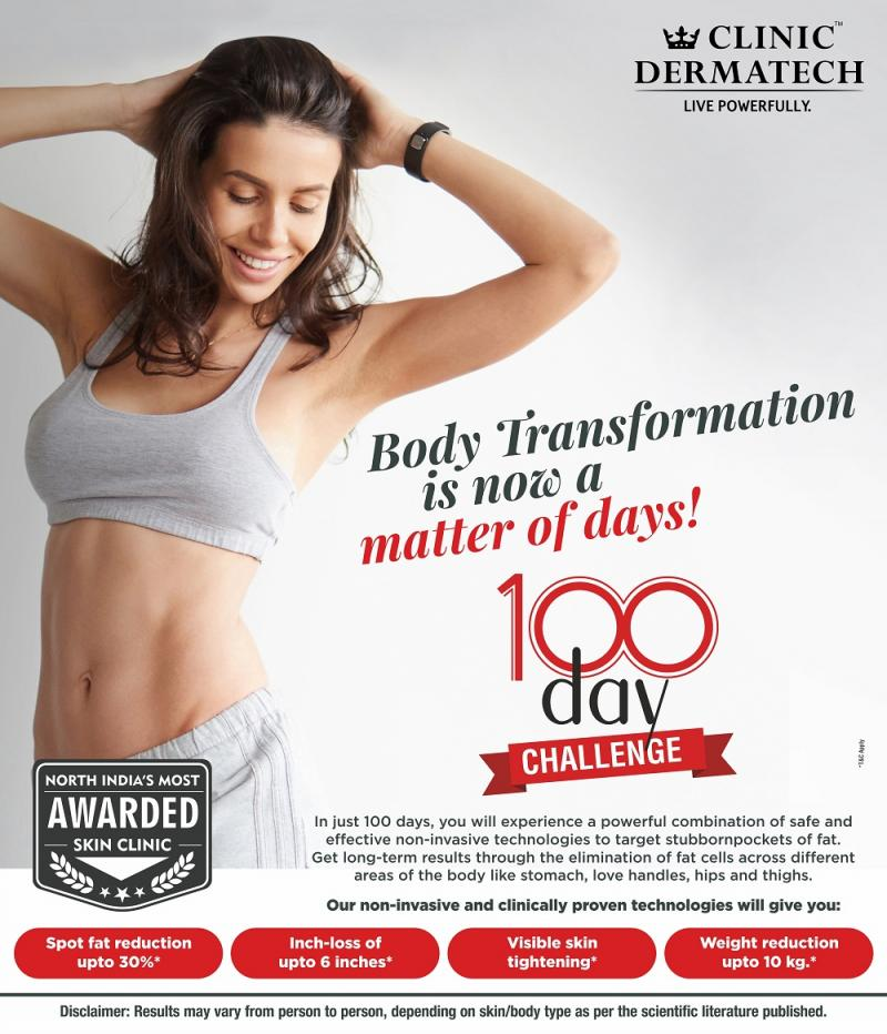 100 days of body sculpting