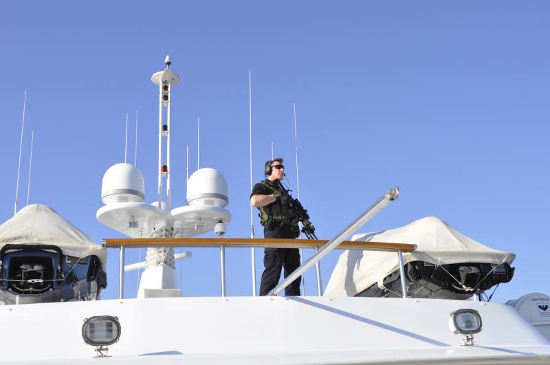 i.b.s. maritime operator at a yacht GoA