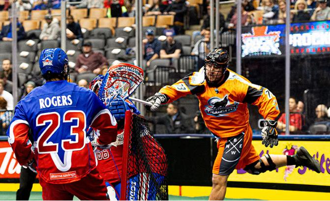 NLL Action/New England Black Wolves